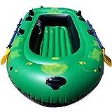 NEHARO Kayaks Barco Inflable escénico al Aire Libre Kayak Barco de Goma Inflable para la Pesca de la Pesca para la Playa (Color : Green, Tamaño : 218x125x28cm)