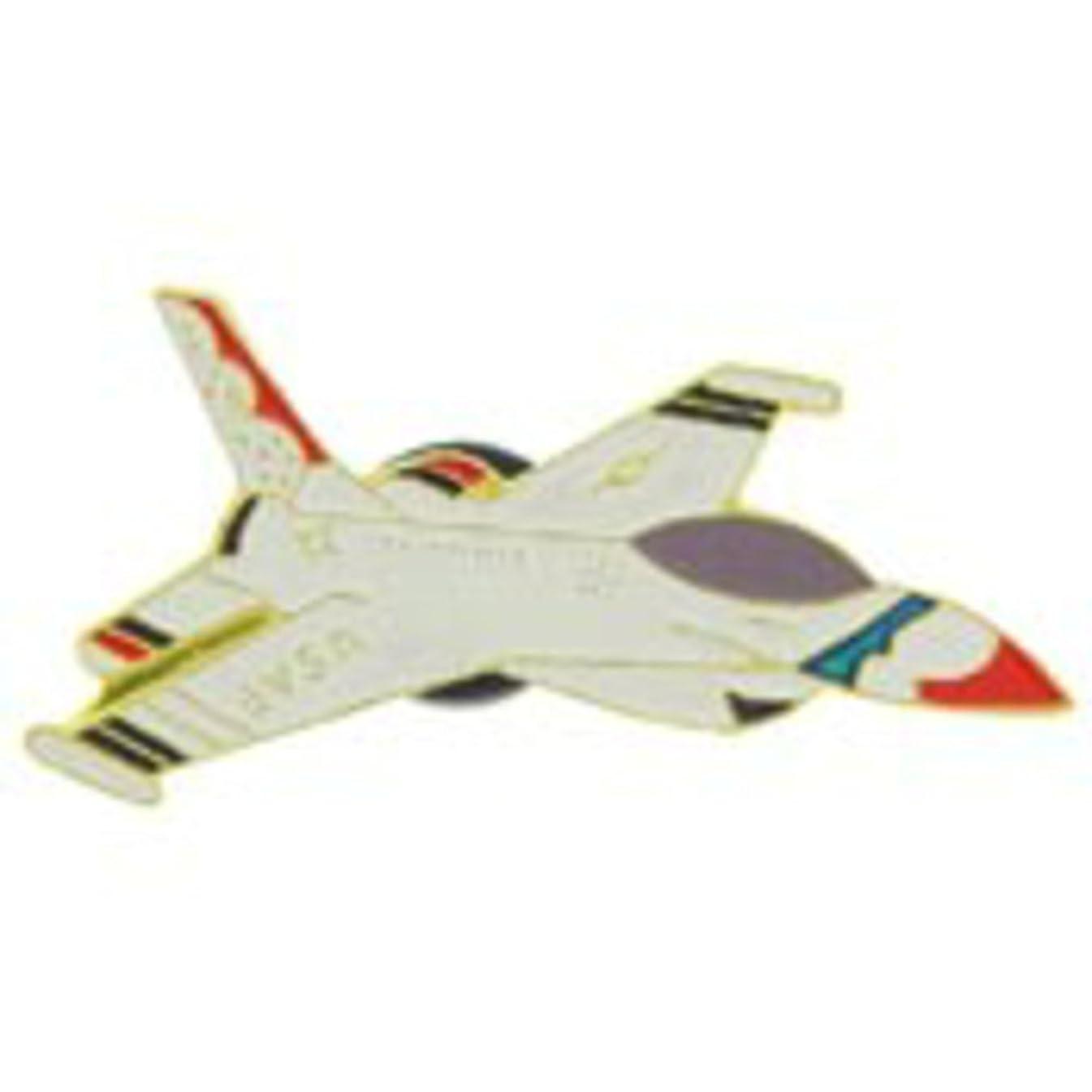 EagleEmblems P64059 Pin-T/B,F-016 Fgt.Falcon 1982-Current (1.5'')