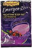 Alacer Emergen Nighttime Sleep Aid, Mellow Berry, 24 Count