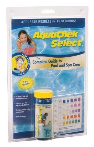 AquaChek 541604A Select Kit Bande de Test pour Piscine par Robelle Industries