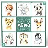 Frechdax® Memory-Spiel mit süßen Tieren