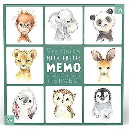 Frechdax Memory-Spiel mit Tieren