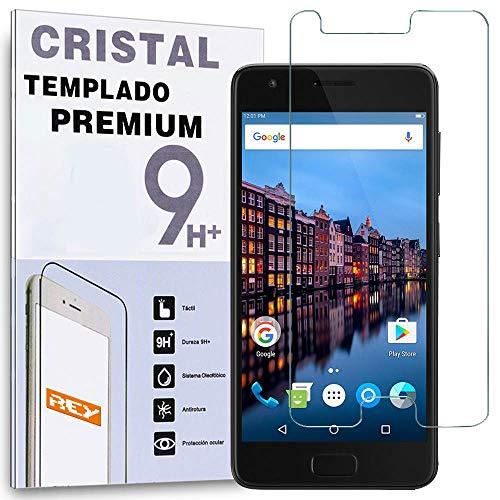 REY Protector de Pantalla para Lenovo ZUK Z2, Cristal Vidrio Templado Premium