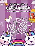 ¡Encuentra al unicornio!: Descubre laberintos divertidos | Libro de laberintos de unicornios | pasatiempos para niños | Rompecabezas para niños desde 6 años