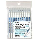 レオニス 手芸や工作に!水で消える布のマーキングペン(Blue×10pcs )[78007]