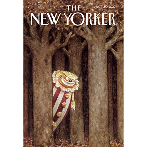 The New Yorker, October 30th 2017 (Patrick Radden Keefe, Hilton Als, Jia Tolentino) cover art