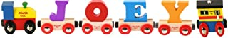 Bigjigs Rail CustomTrain - Pick Your Own 4 Letters and Numbers!