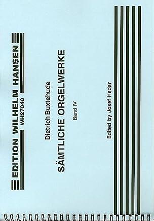 Dietrich Buxtehude: Organ Works volume 4Chorale Preludes–Buch