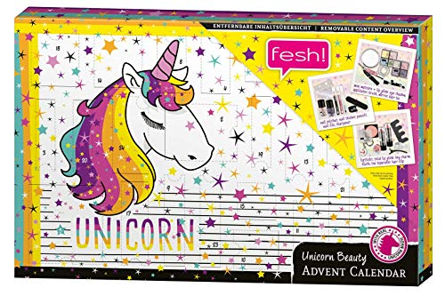 Unicorn Advent Calendar for Adults - der festliche Beauty-Adventskalender für Erwachsene - von fesh!