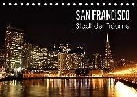 San Francisco - Stadt der Traeume (Tischkalender 2022 DIN A5 quer): Einzigartige Aufnahmen der Metropole im Sunshine State Kalifornien. (Monatskalender, 14 Seiten )