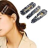 Runmi - Mollette colorate per capelli, in resina acrilica, accessori per lo styling dei ca...