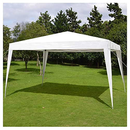 YRRA Carpa de jardín 3x3m Cenador Plegable Gazebo Impermeable, Protección UV 50+, para Patio/Camping/Playa/Fiestas,Without wai Cloth,3x4m