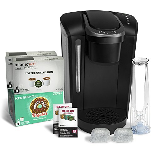 Keurig K-Select B Single Serve Coffee Maker with 24 K-Cups & 2 Water Filter Cartridges - Black