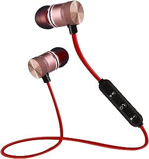 Bluetooth-hörlurar, magnetiska trådlösa Bluetooth 4.1 sport in-ear hörlurar lätt headset med mikrofon 5 timmar arbetstid f...