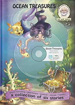 Hardcover Ocean Treasures with audio CD Book