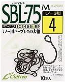 オーナー(OWNER) SBL-75M シングル75バーブレス(ミノー用) フック4 11626 釣り針