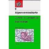 Loferer- und Leoganger Steinberge: Wege und Skitouren (Alpenvereinskarten)