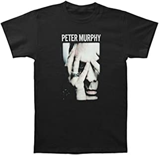 Peter Murphy Men's Hands Slim Fit T-Shirt Black