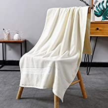 CASSO 100% Cotton Solid Bath Towel 70x140cm 450g Beach Towel For Grownup Bathroom Firm Drying Soft Thick Face Towel towels...
