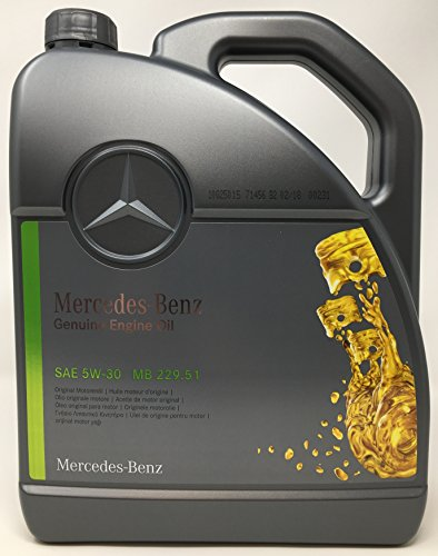 Originele Mercedes Benz motorolie 5W-30 MB 229,51 5 L