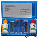 Trousse d'analyse liquide Test ph et chlore Piscine