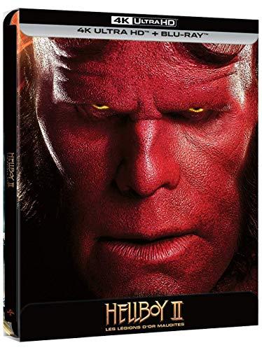 Hellboy II, Les légions d'or maudites [4K Ultra HD + Blu-Ray-Édition boîtier SteelBook]