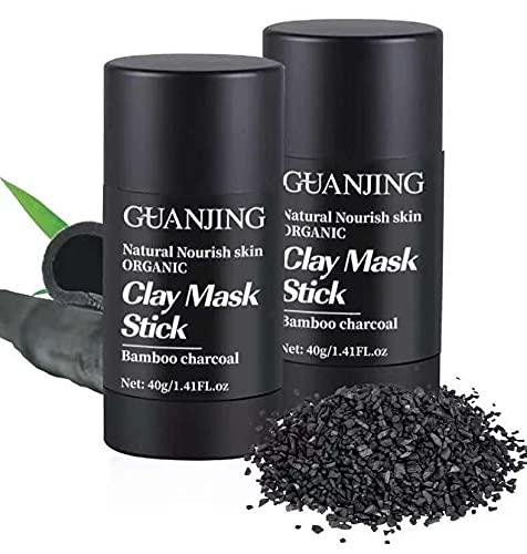 3 unids carbón de bambú limpieza negro máscara palo purificación arcilla palo máscara control aceite cuidado de la piel quitar puntos negros máscara de barro