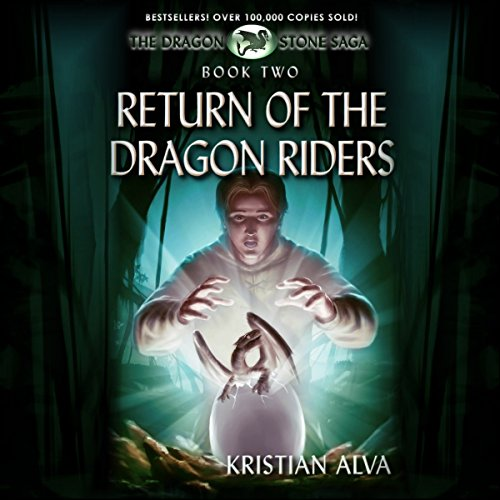 Return of the Dragon Riders audiobook cover art