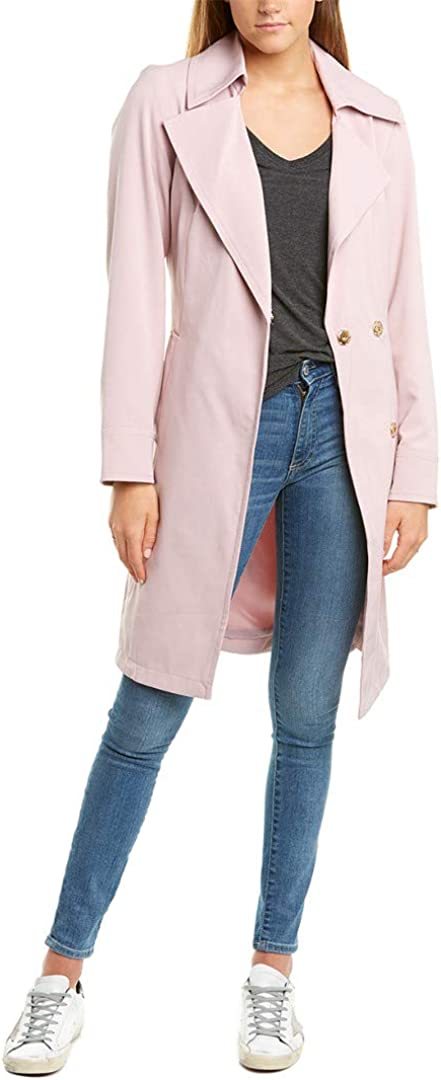Sale SALE% Colorado Springs Mall OFF Vince Camuto Women's Belted Rain Jacket Trench Coat