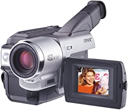 Sony CCD-TRV58 20x Optical Zoom 460x Digital Zoom Hi8mm Camcorder (Discontinued by Manufacturer)