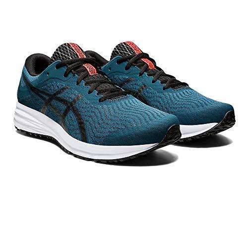 Asics Patriot 12, Sneaker Mens, Magnetic Blue/Black, 42.5 EU