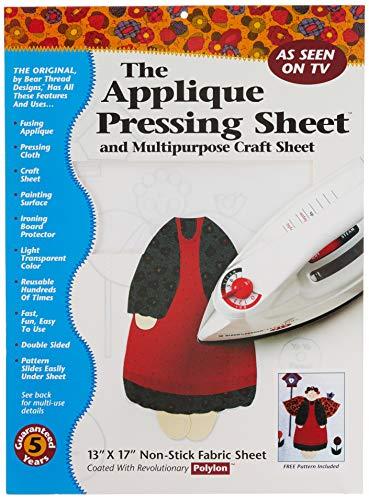 Price comparison product image Bear Thread Applique Pressing Sheet (10206)