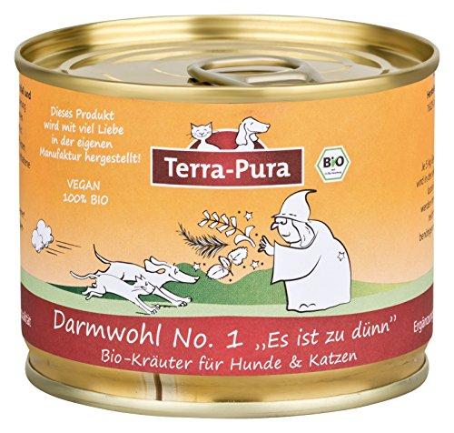 Intestin WOHL N ° 1 Terra Pura Mélange d'herbes pour chien estomac intestinale
