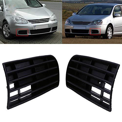 Auto Frontschürze unteres Gitter für VW Golf 5 2004 2005 2006 2007 2008 2009 Auto Side Replacement Accessories,1Pair