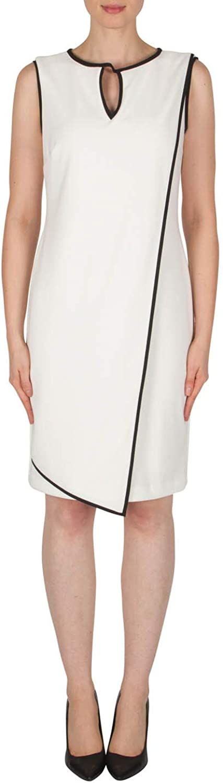 Joseph Ribkoff Vanilla Black Dress Style 182011