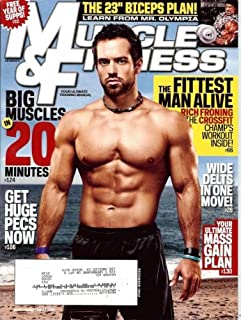 Muscle & Fitness Magazine, December, 2012