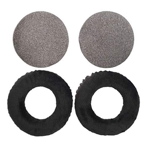 Almohadillas de Repuesto Compatible con Cascos Beyerdynamic DT 440, 660, 770, 860, 880 & 990   Espuma Memory   Negro