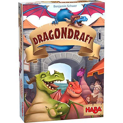HABA B08NF369HZ 305886 - Dragondraft, Kartenspiel für Kinder ab 8 Jahren, für 44231 Spieler, fördert logisches Denken & Konzentration