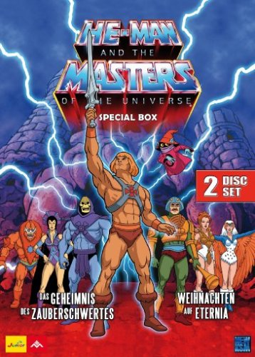 He-Man and the Masters of the Universe - Weihnachten auf Eternia / She-Ra: Princess of Power - Das Geheimnis des Zauberschwertes (Special Box) [2 DVDs]