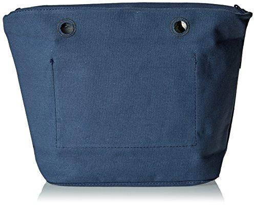 O bag Canvas, Borsa a Mano Donna, Blu, 29x25x9 cm (W x H x L)