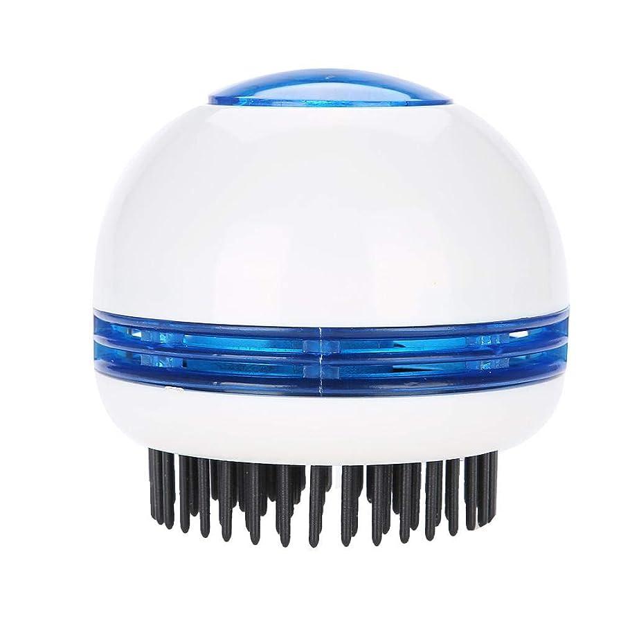 すぐにしわ場所TOPINCN 電気 マッサージブラシ ヘッドマッサージャー 帯電防止 頭皮のリラクゼーション ストレス緩和 ヘアスクラバーブラシ