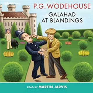 Galahad at Blandings audiobook cover art