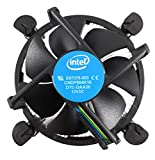 Intel Core i3 i5 i7 Socket 1151 1150 1155 1156 4-Pin Connector CPU Cooler with Copper Core Base & Aluminum Heatsink & 3.5-Inch Fan with Pre-Applied TRONSTORE Thermal Paste (TS1)