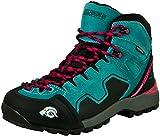GUGGEN Mountain PM021 Damen Trekking-& Wanderstiefel Wanderschuhe Trekkingschuhe Outdoorschuhe wasserdicht mit Membran und Wildleder Farbe Blau EU 43