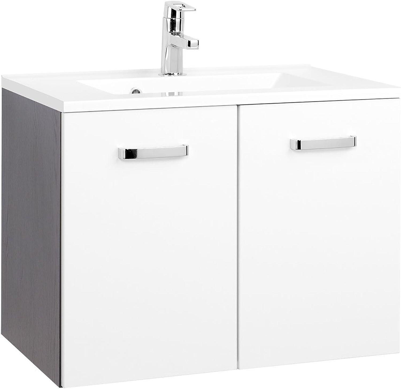 Waschtisch Badmbel Handwaschbecken Waschbecken Waschplatz Bad  Bologna IV  70 cm