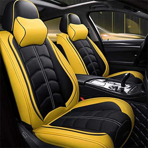 Stoelhoezen ZZQ - Auto Mode Sport Alle lederen All-inclusive 5D / Vier seizoenen Universeel / 5 Seat Car Universeel