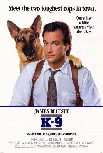 Pop Culture Graphics K-9 Poster Movie 27x40 James Belushi Mel Harris Kevin Tighe