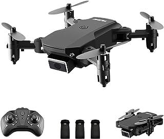 Drone para adultos, Entweg S66 RC Drone Controle Remoto Mini Drone 13mins Tempo de Vôo 3D Flip Altitude Hold Headless Mode...