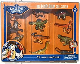 Dr. Steve Hunters My Dinosaur Collection – 12 Little Dinosaurs