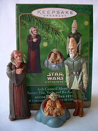 Price comparison product image Hallmark Keepsake Ornament - Jedi Council Members 2000 (QXI6744)